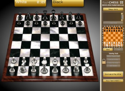 Игра Шахматы 3 - Flash chess