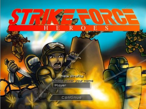 Герои ударного отряда  Strike Force Heroes
