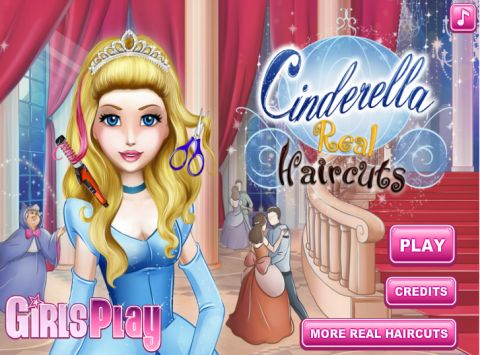 Игра Причёски для Золушки - Cinderella Real Haircuts