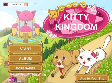 Кошачье королевство  Kitty kingdom