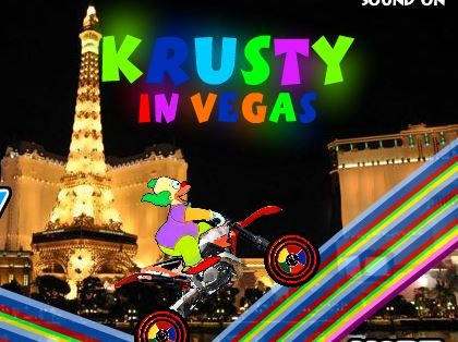 Игра Клоун Красти в Вегасе (Krusty In Vegas)