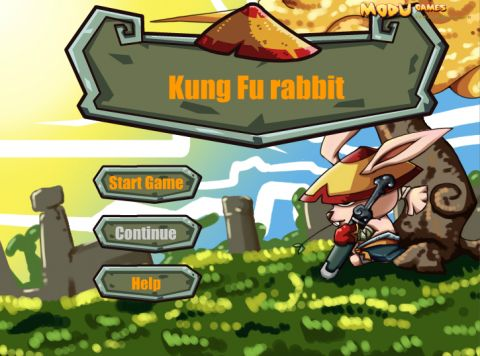 Игра Кунг-фу кролики - ungfu rabbit