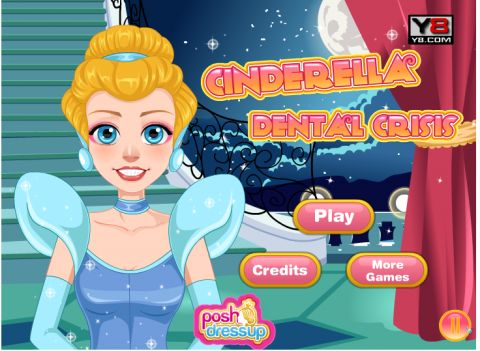 Игра Проблема с зубами - Cinderella Dental Crisis