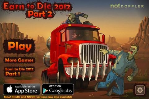 Добраться или умереть часть 2  Earn to Die 2012: Part 2