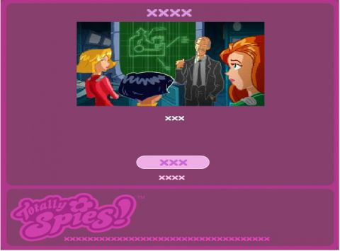 Игра Ловушка в крепости - Totally Spies