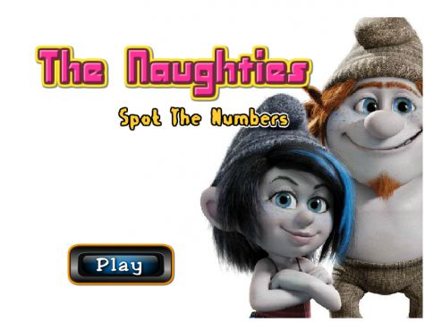 Игра Найдите числа - The Naughties Spot The Numbers