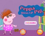 Игра Свинка Пеппа - одевалка (Peppa Dress up pig)