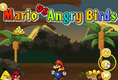 Видео Angry Birds Vs Super Mario