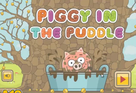 Видео Piggy In the Puddle - Свинка в луже