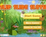 Игра Крокодильчик Свомпи и ленивцы (Slipe slide sloth )