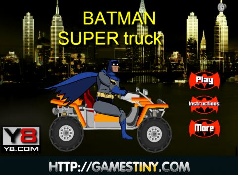 Игра Бэтмен Супер грузовик - Batman super truck