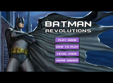 Игра Бэтмен революция - Batman revolutions
