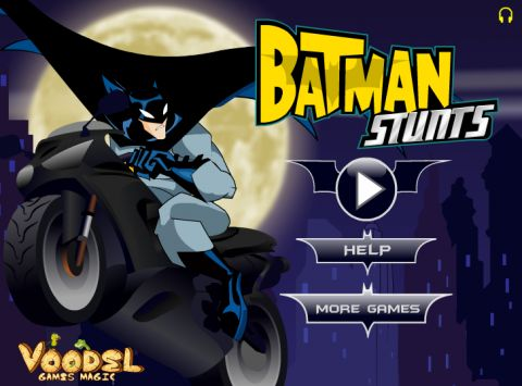 Игра Трюки Бэтмена - Batman stunts
