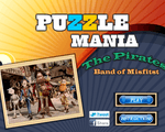 Игра Паззл мания Пираты  (Puzzle mania the Pirated Band of Misfitst)