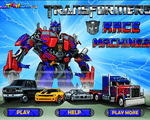 Игра Гонка машин (Transformers race machines)