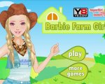 Игра Барби - девушка с фермы (Barbie farm girl)