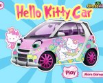Игра Машинка Хелло Китти (Machine Hello Kitty)