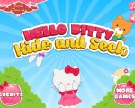 Игра Прятки с Хелло Китти (Hide and seek with Hello kitty)