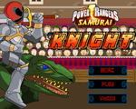 Игра Рыцарь рейнджер (Power Rangers Knight)