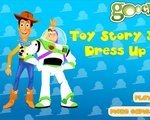 Игра Наряд героев (Toy Story 3 dress up)