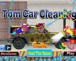 Игра Чистка машины (Tom car cleaning)
