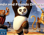 Игра Панда и друзья (Panda and Friends Difference)