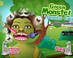 Игра Зелёный монстр у дантиста (Green monster dentist)