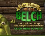 Игра Шрек Чемпионат по отрыжке (The Battle of the belch)