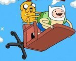 Игра Облака (Adventure Time finn up)