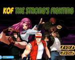 Игра Острая битва (KOF The Strongs Fighting)